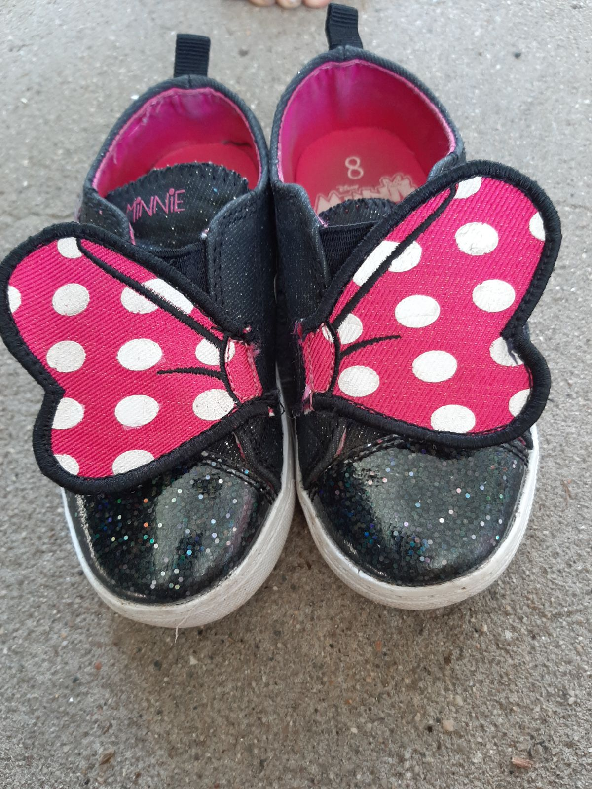 Disney Mini Mouse Shoes Size toddler 8
