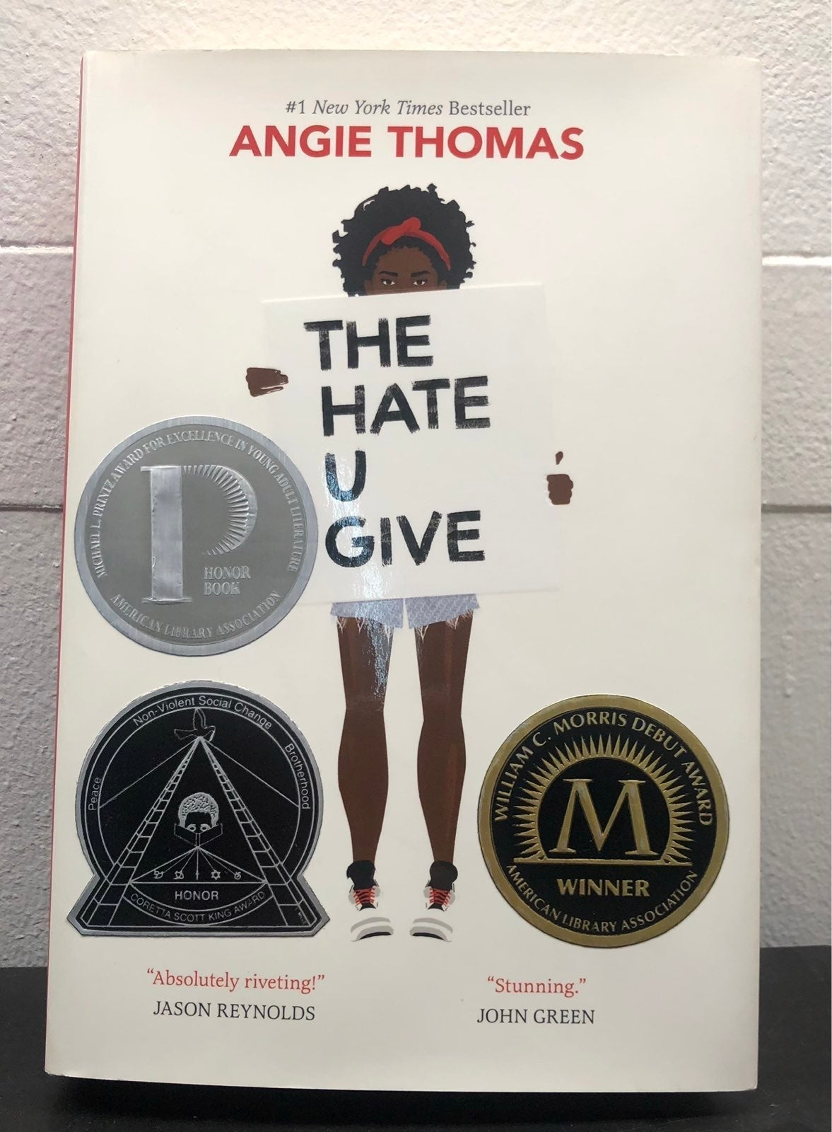 The Hate U Give by Angie Thimas