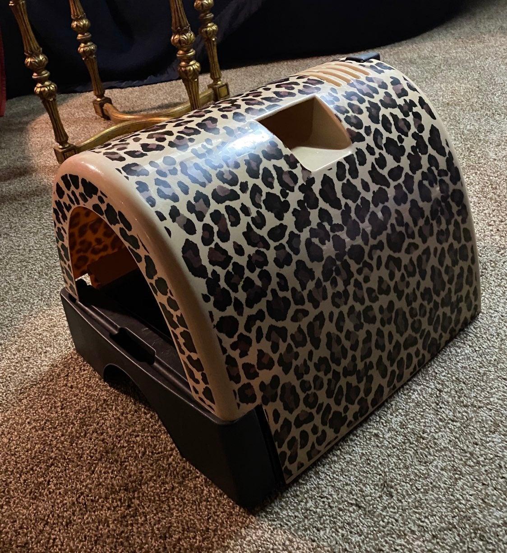 Fancy Cat Litter Box by Kitty a GoGo
