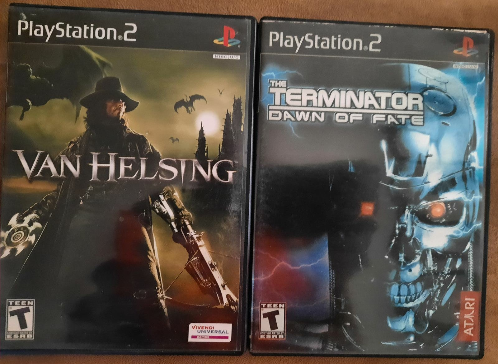 Van Helsing on Playstation 2 and Termina