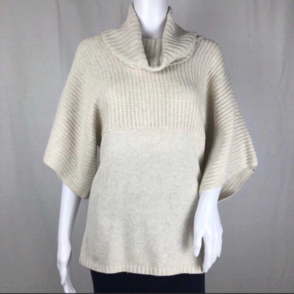BCBG Paris Turtle Neck Sweater Top Size