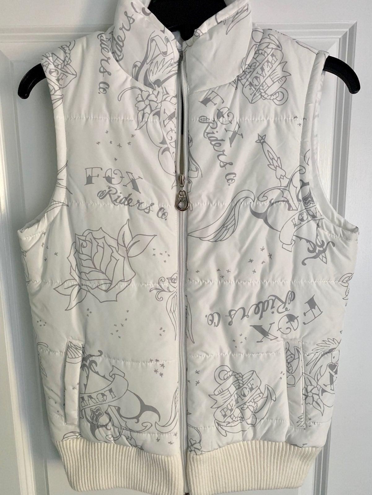 Fox Puffer Vest