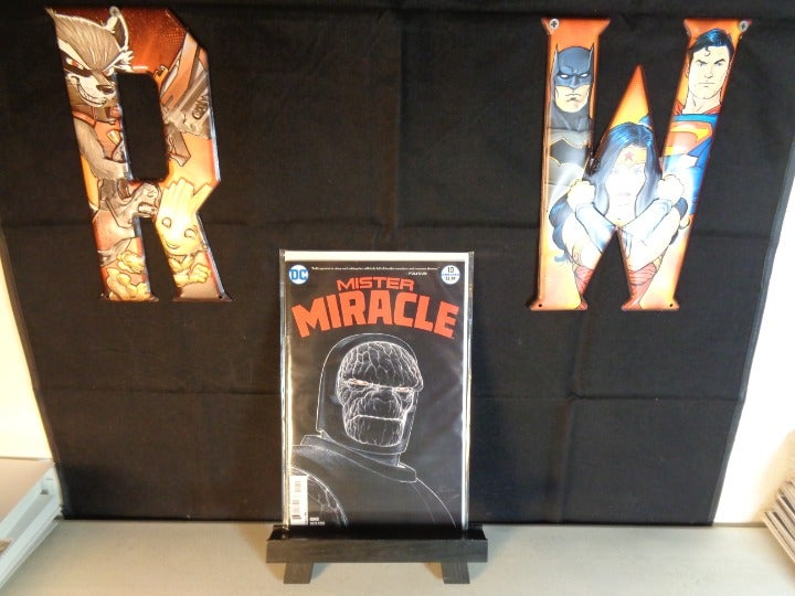Mister Miracle #10 Comic Darkseid Cover