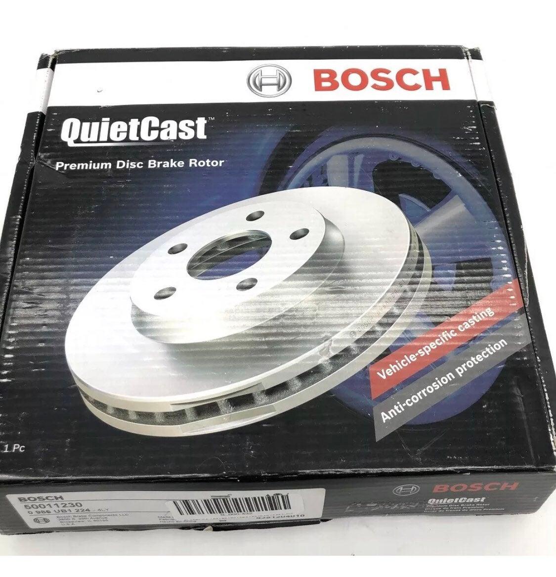 Bosch QuietCast Premium Disc Brake Rotor