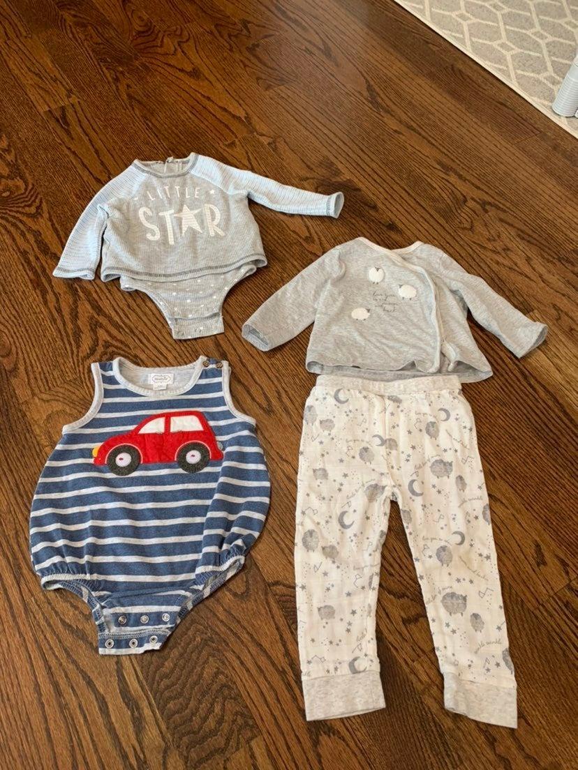Mud Pie baby boys clothes
