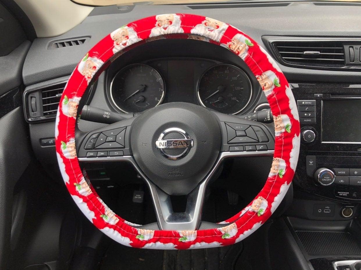 Christmas Steering Wheel Cover