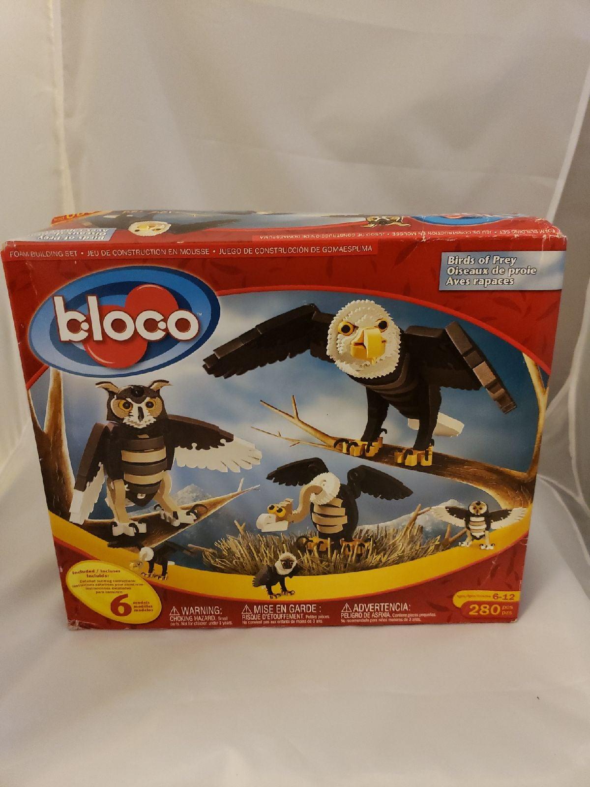 Birds of Prey Building Kit Toy by Bloco