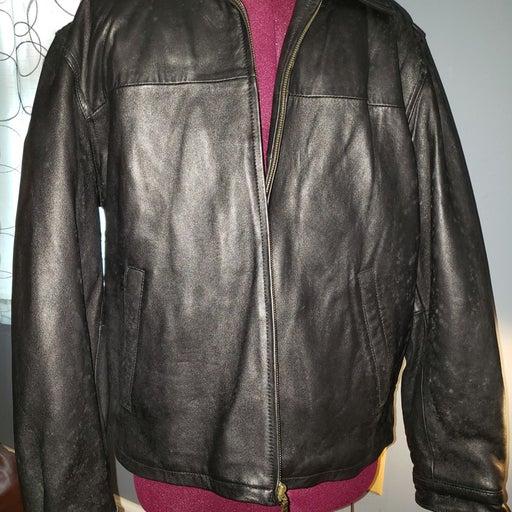Leather Jacket Covington mens large
