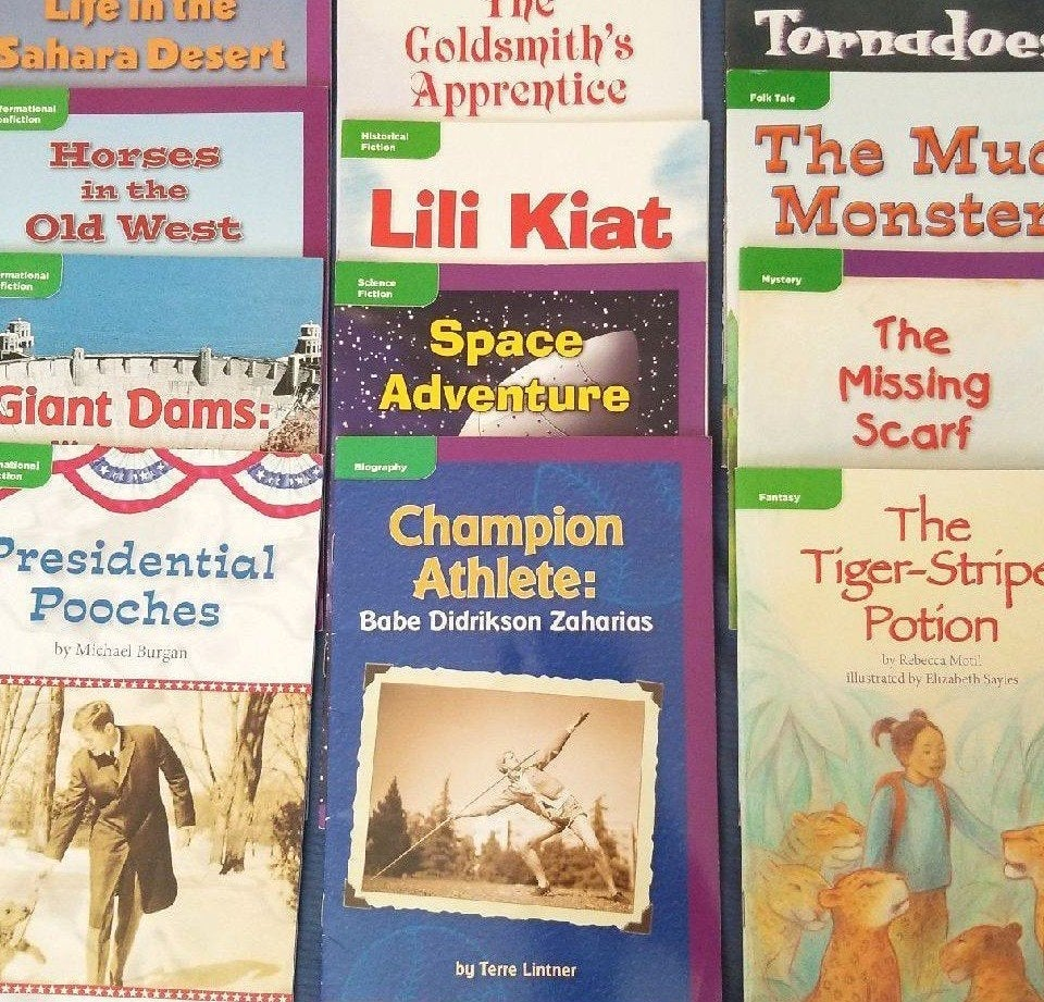 12 Macmillan McGraw-Hill Books