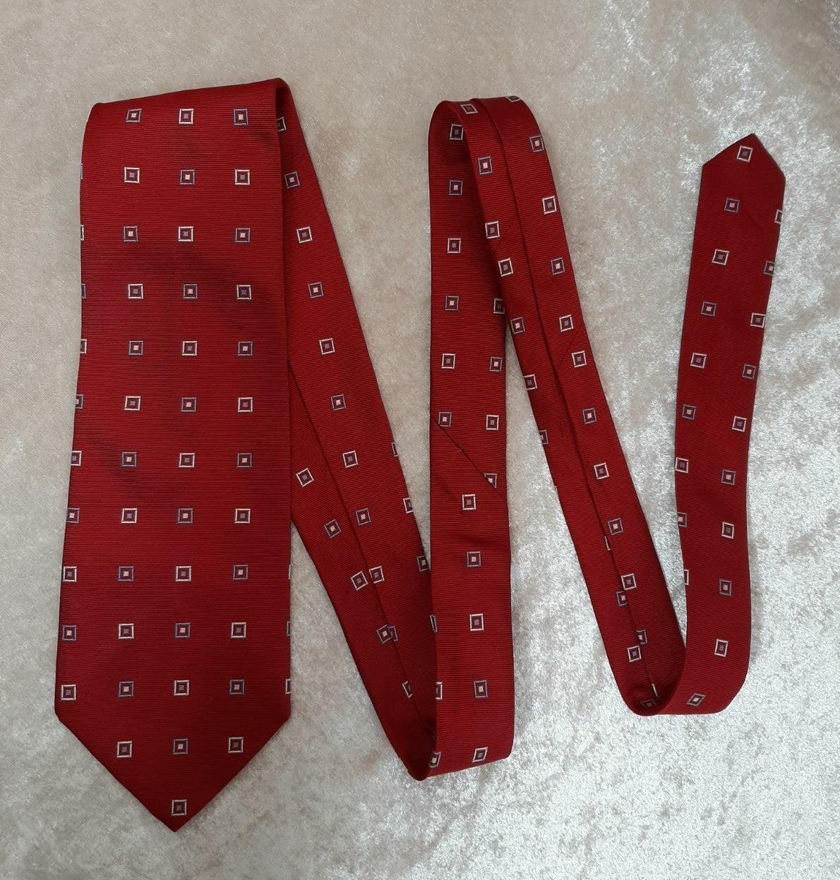 Brooks Brothers Silk Tie Red Blue