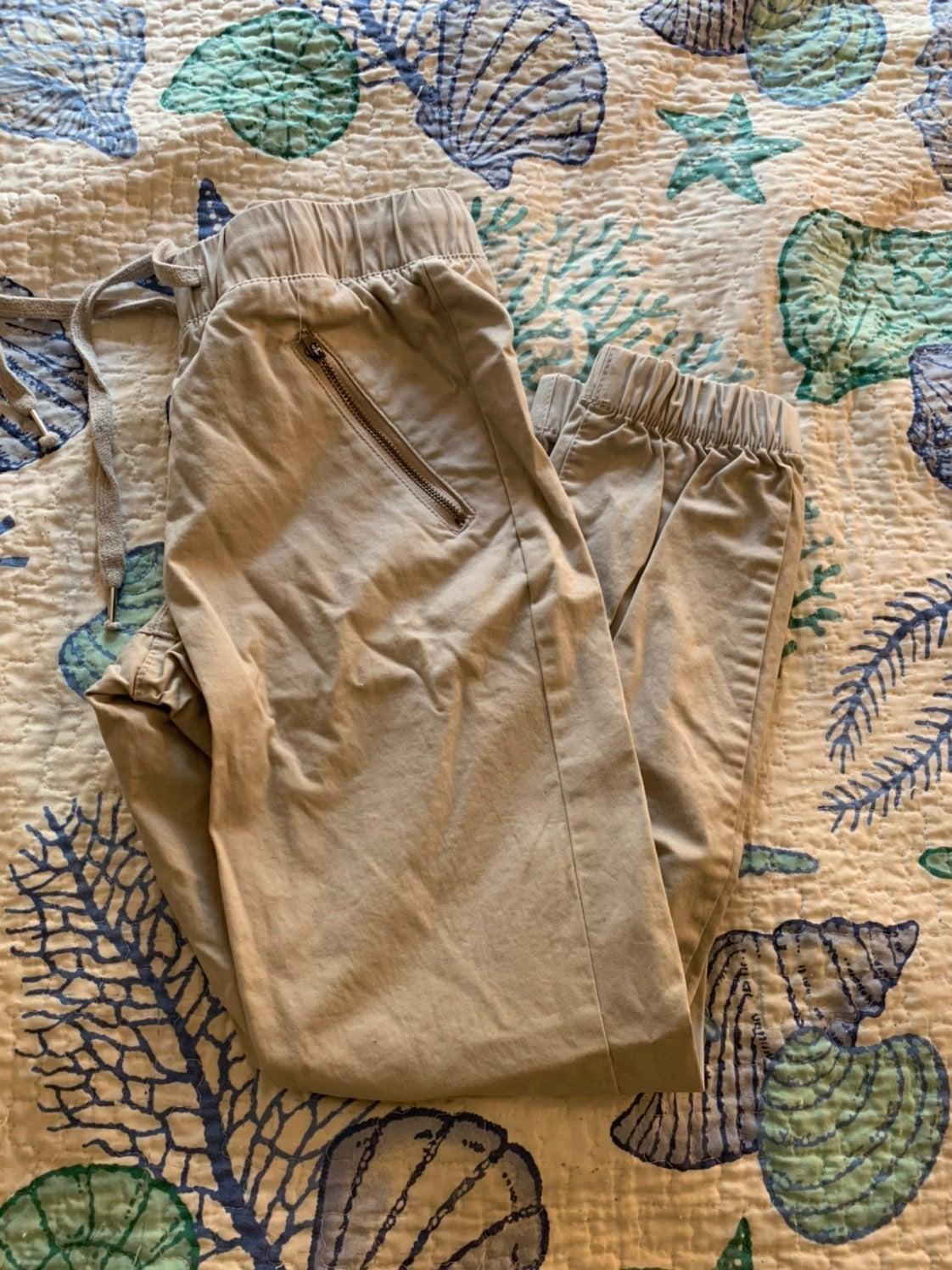 Grey chino pants