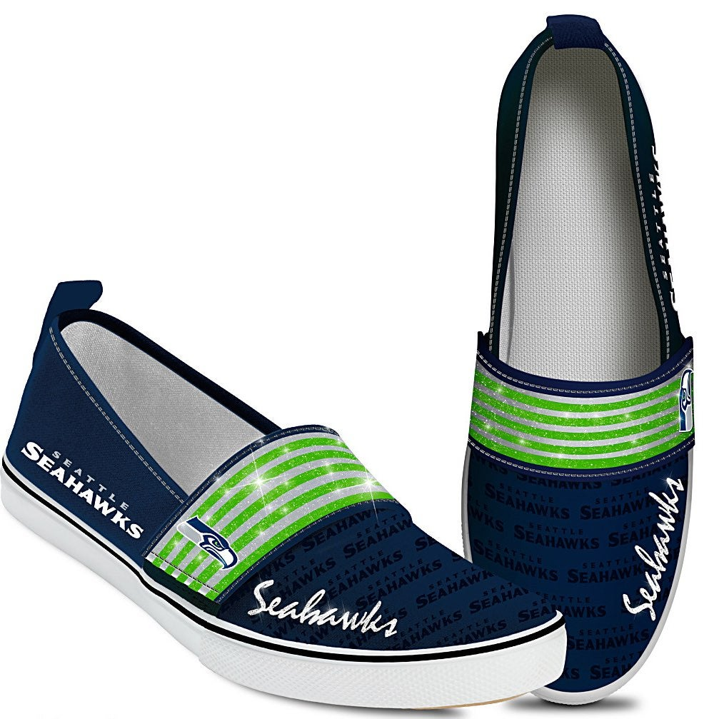 NWOB NFL Seattle Seahawks Slip on Shoes