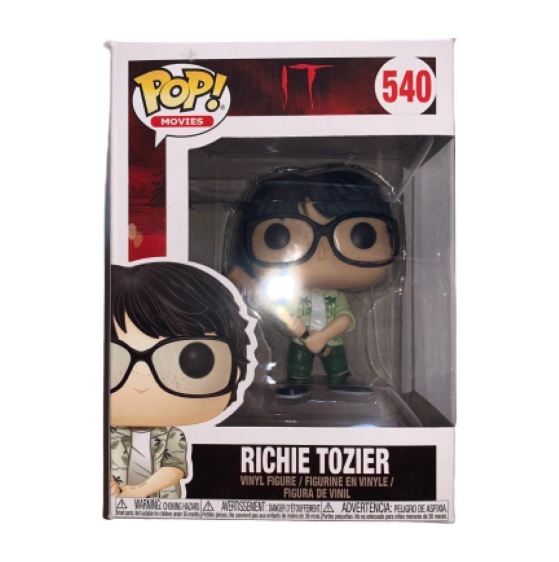 Richie Tozier Funko Pop Collectible Toy