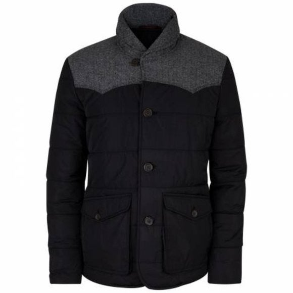 Ted Baker Manchut Quilted Jacket Black