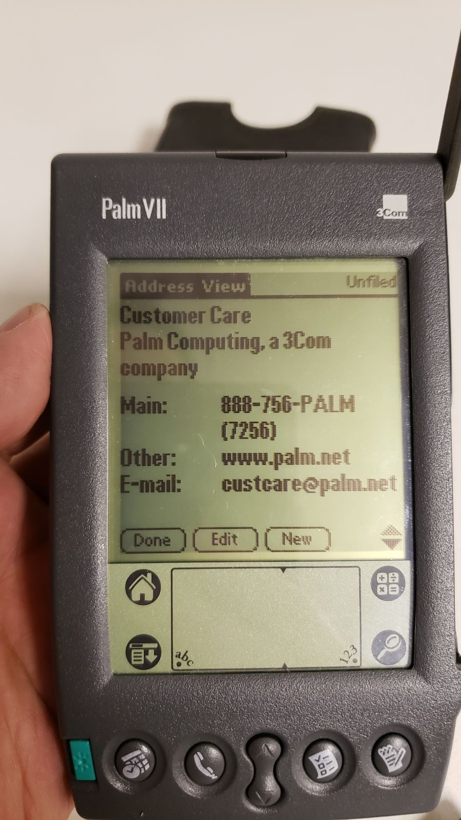 Palm VII Handheld PDA Palm pilot