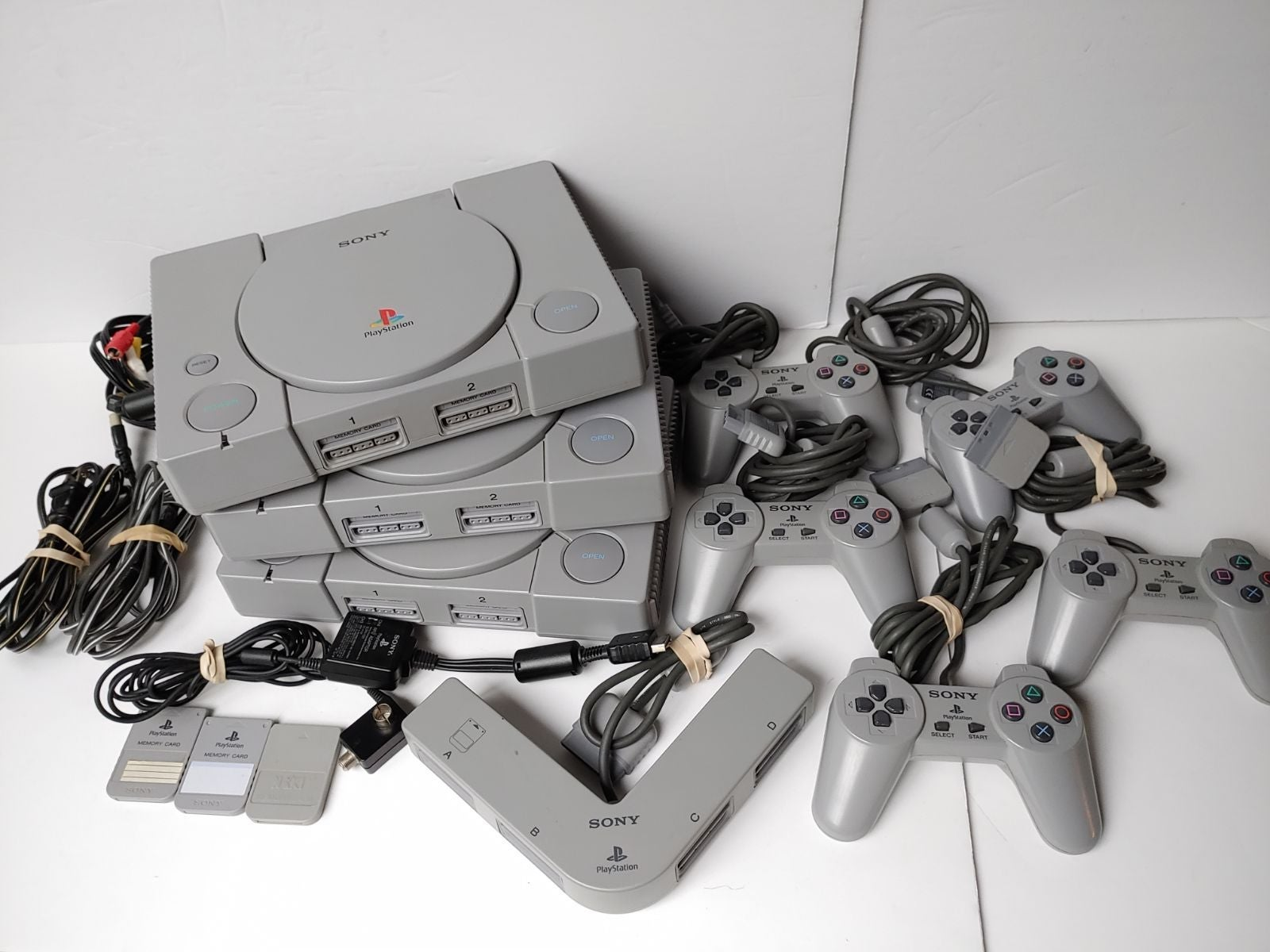 Sony PlayStation1 Consoles+ControllerLot