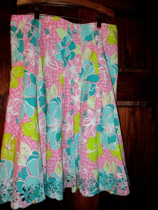 Lilly Pulitzer Skirt 10 Pink