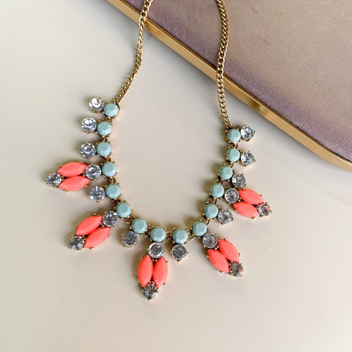J. Crew Multicolor Statement Necklace