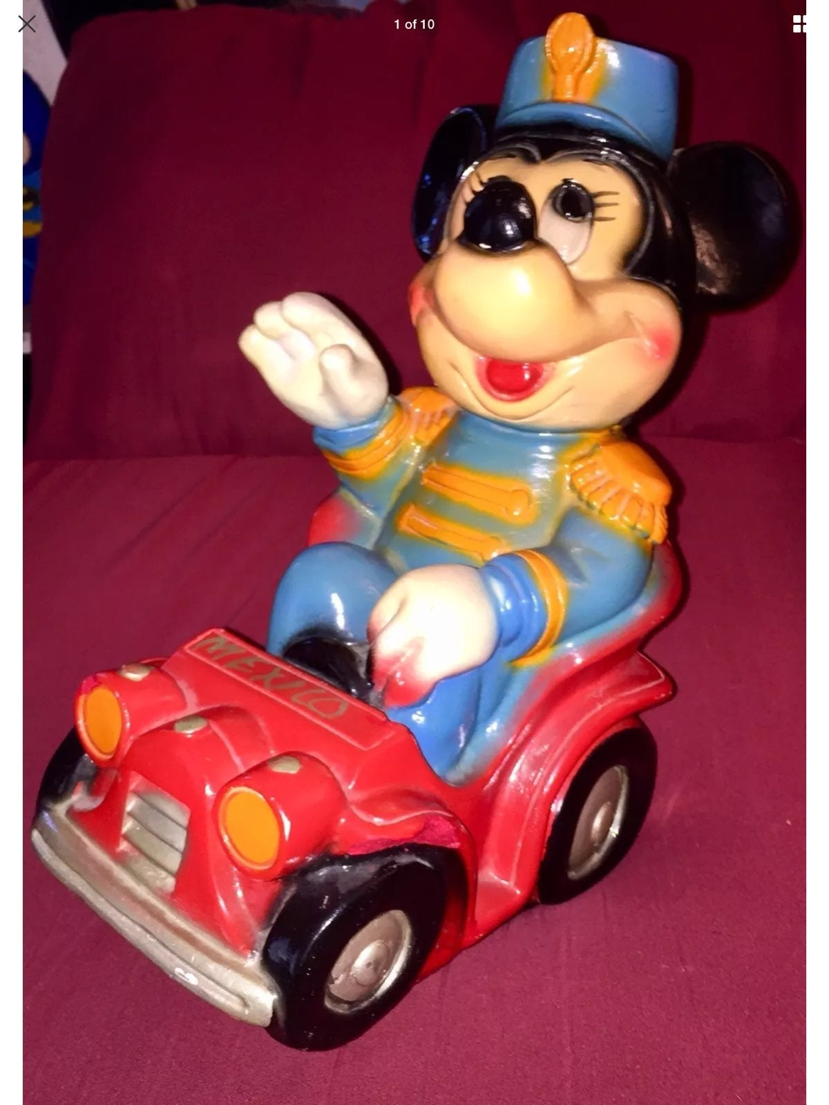 Vintage 1977 Disney Mickey Mouse Bank