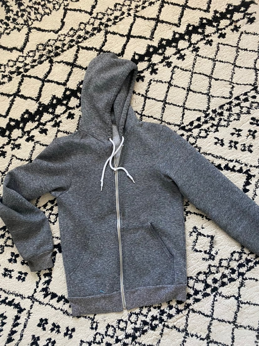 American Apparel Zip Up Hoodie