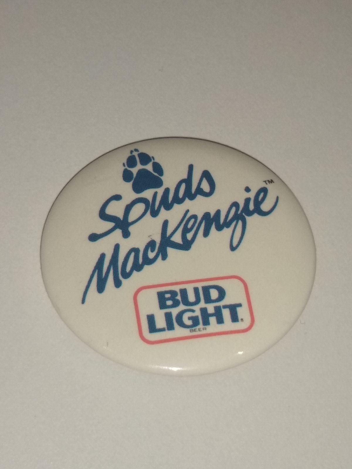 1987 Spuds Mackenzie Bud Light Beer Pin