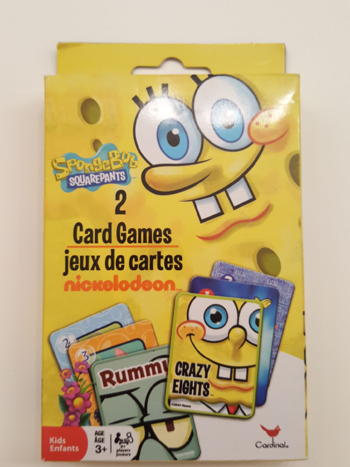 SpongeBob Card Games