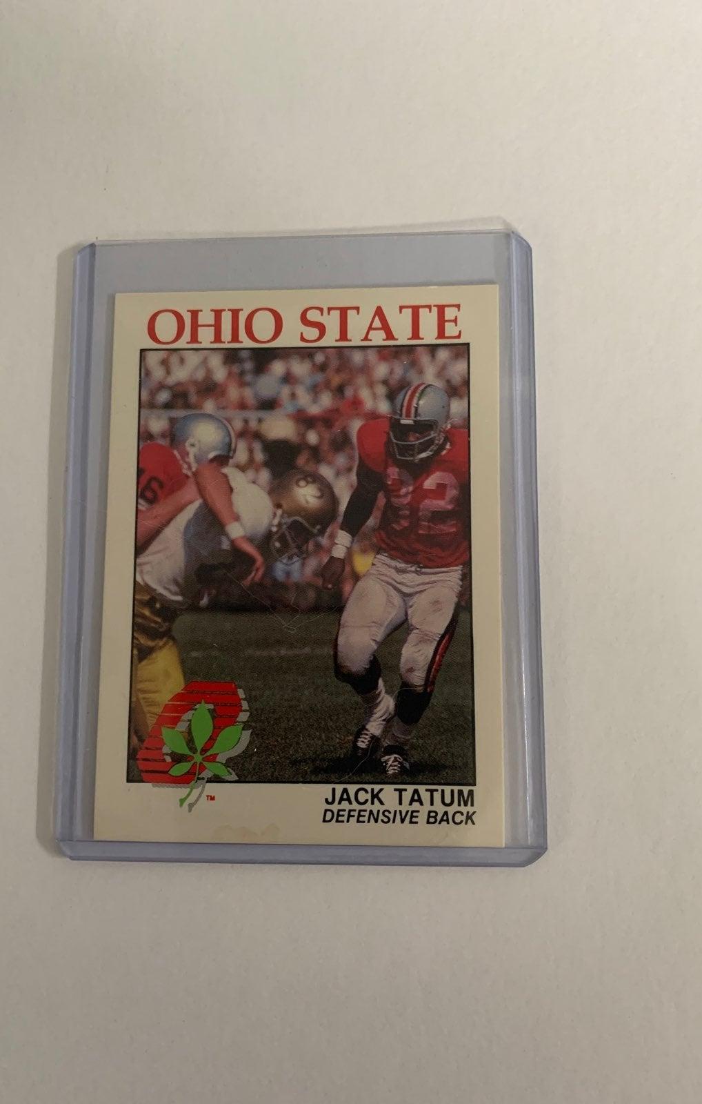 Jack Tatum Ohio State Buckeyes card