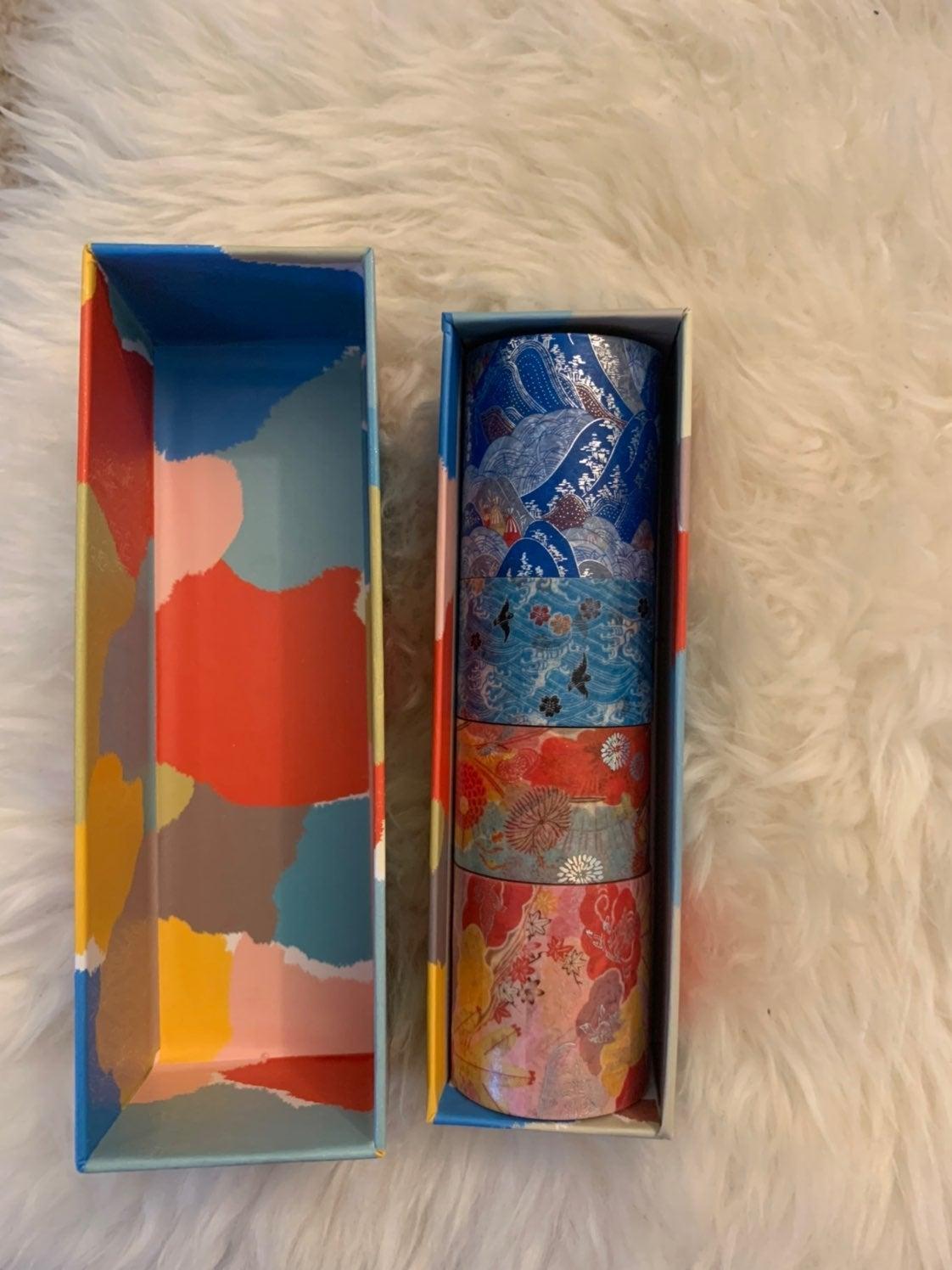Washi tapes set of 4 RARE