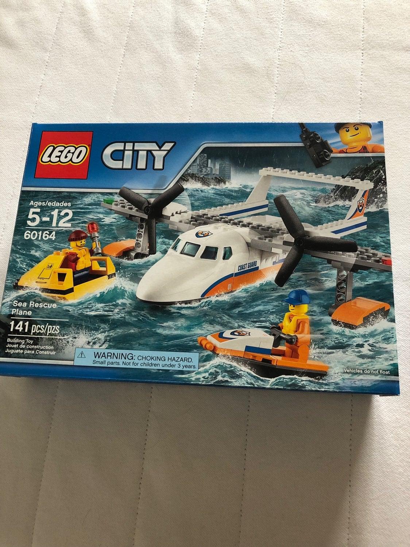 Lego City Sea Rescue Plane