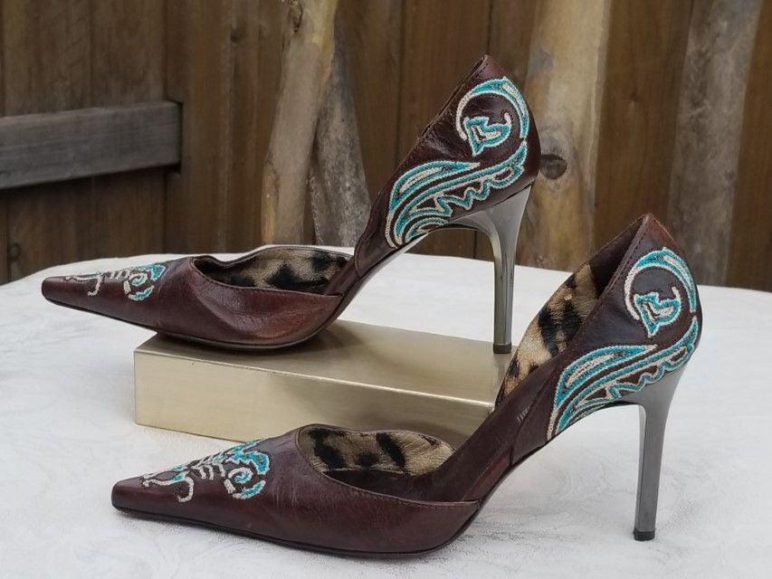 Roberto Cavalli Designer D'orsay heels S