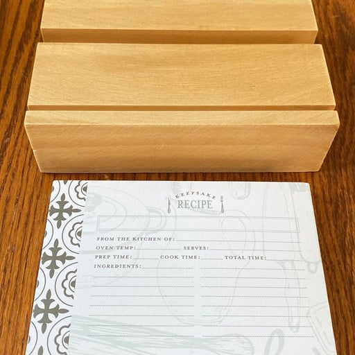 Tablet/Recipe Holder With Card