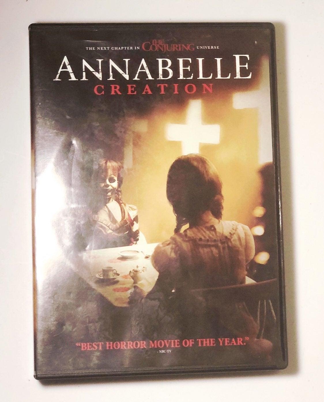Annabelle Creation Horror Movie DVD
