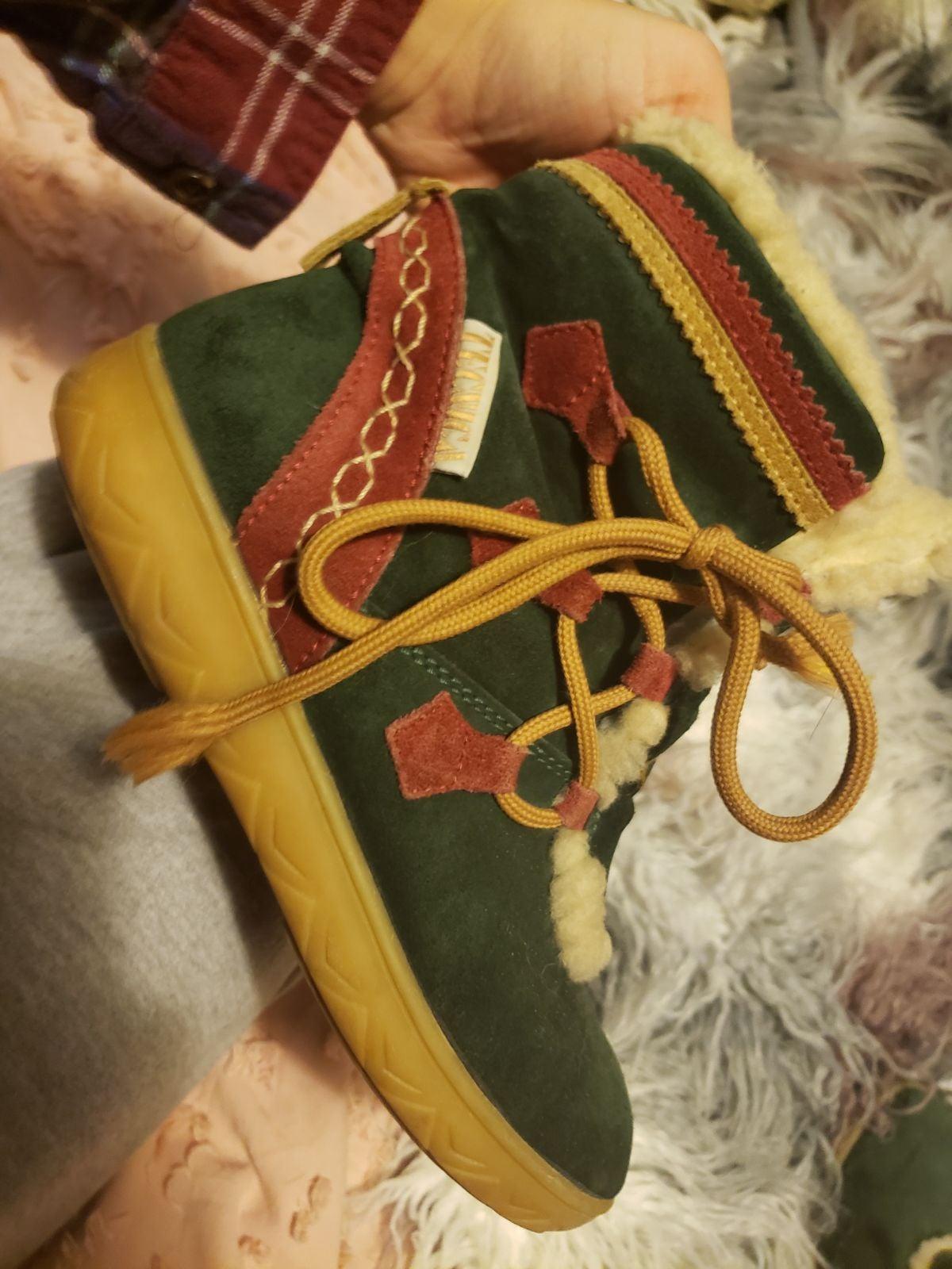 Tecnica green boots booties