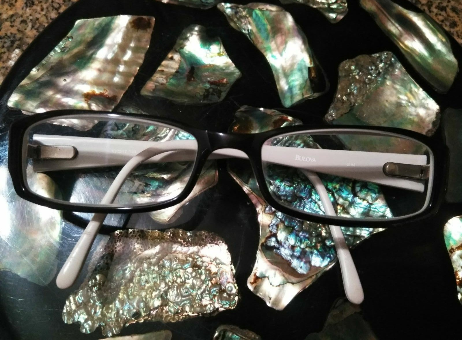 Bulova eyeglasses frame