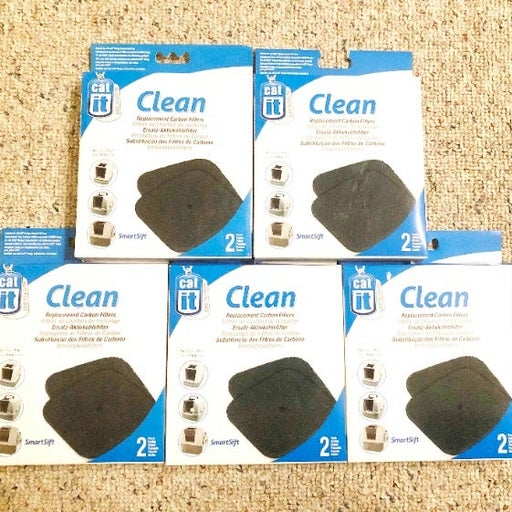 5 of Catit Carbon Filter Replacement Cat