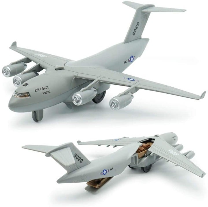 Diecast Plane Metal Pull-Back Aircraft