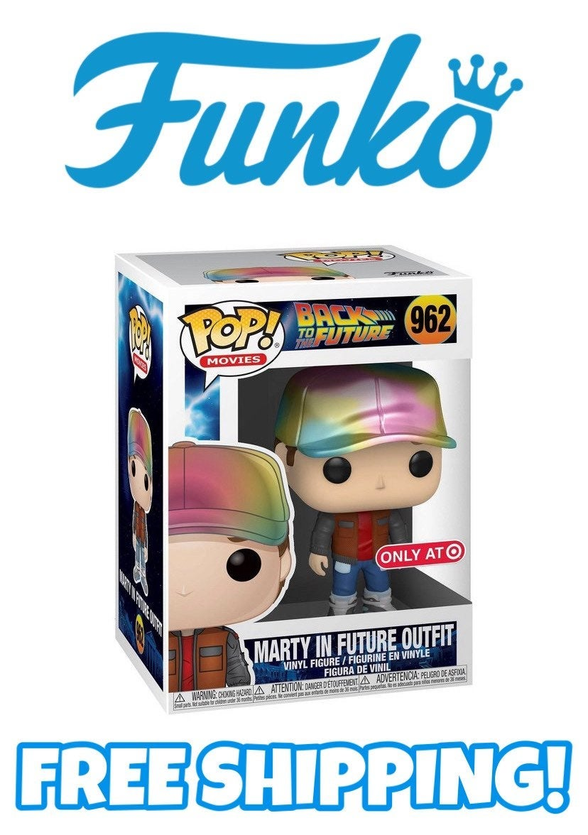 FUNKO POP! MARTY IN FUTURE OUTFIT #962