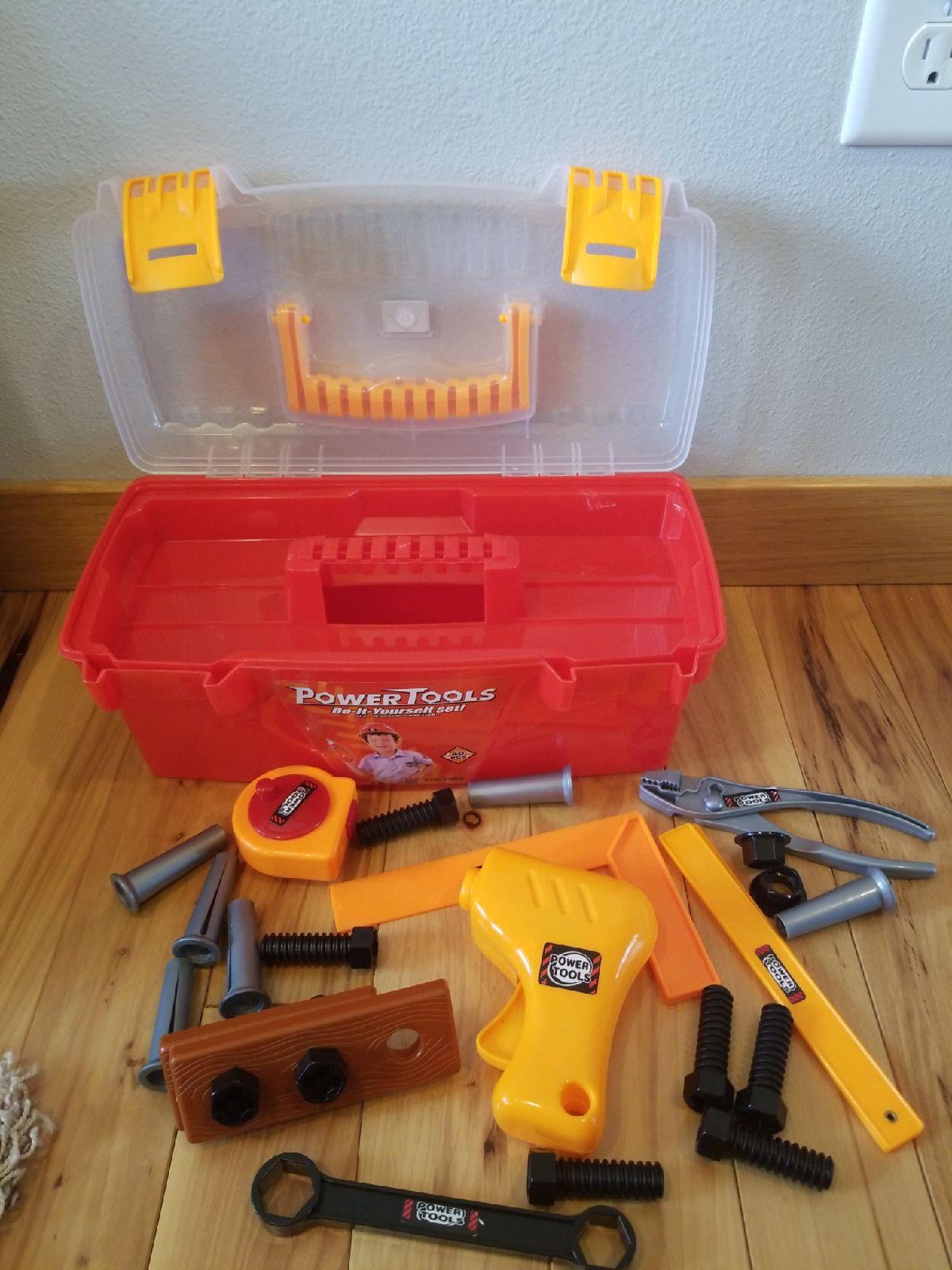 Kids Toolbox with Tools