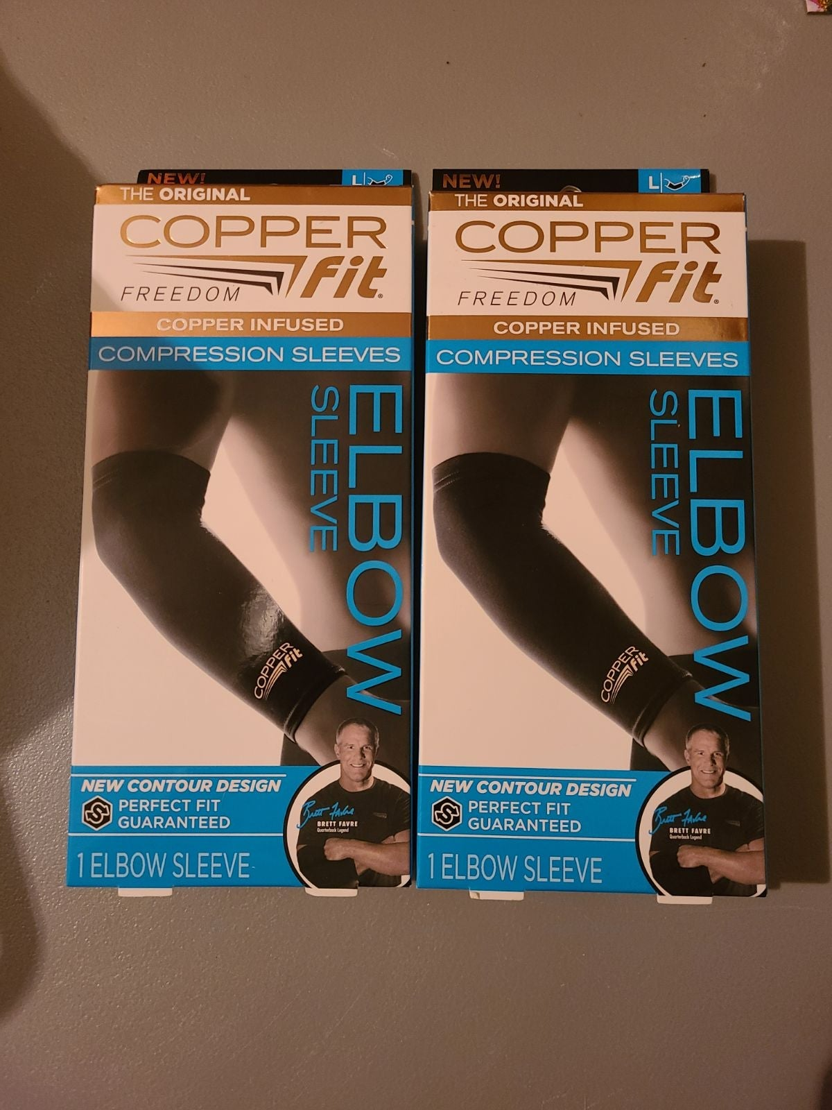 Copper Fit Compression sleeves