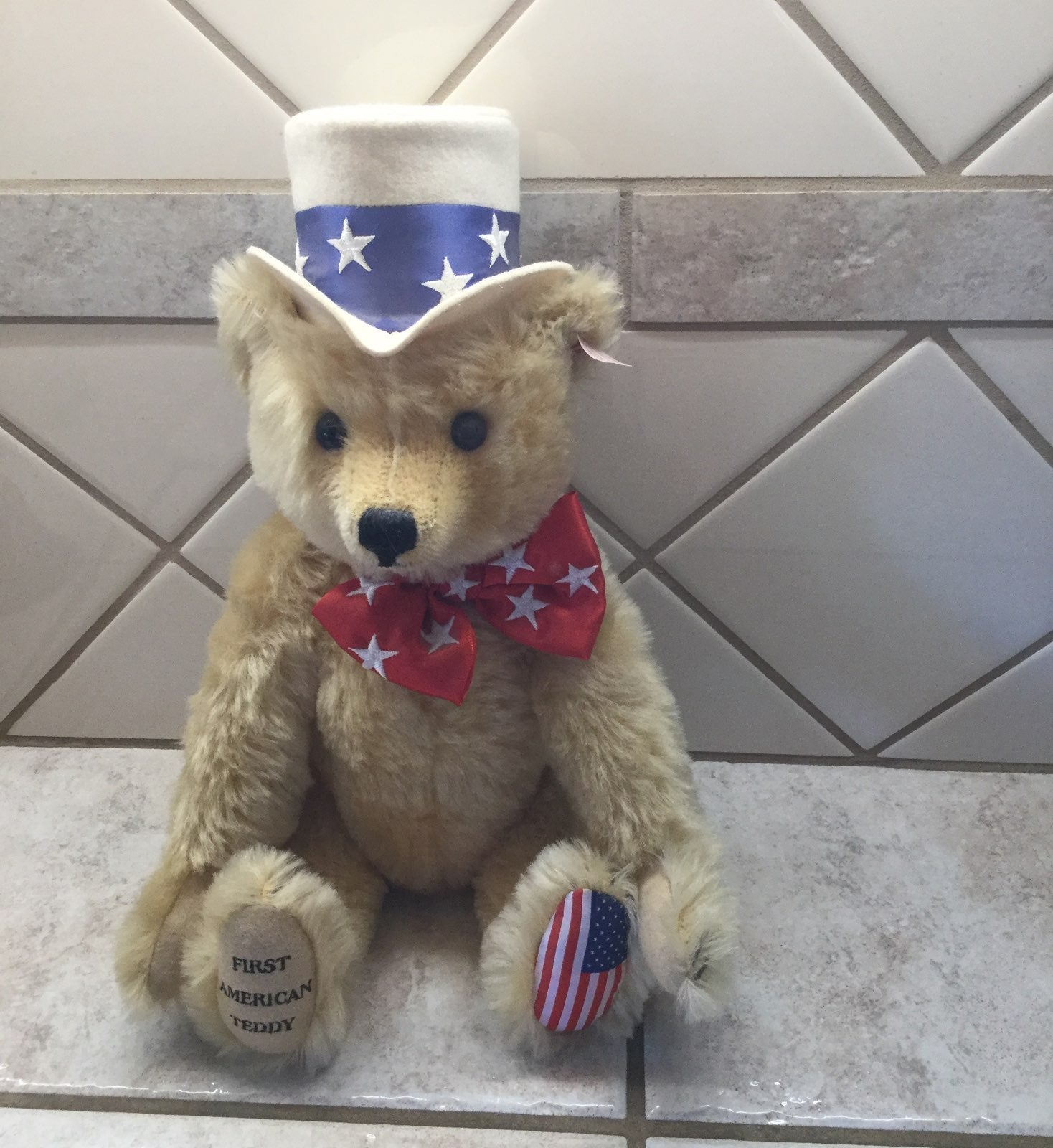 Steiff First American Teddy