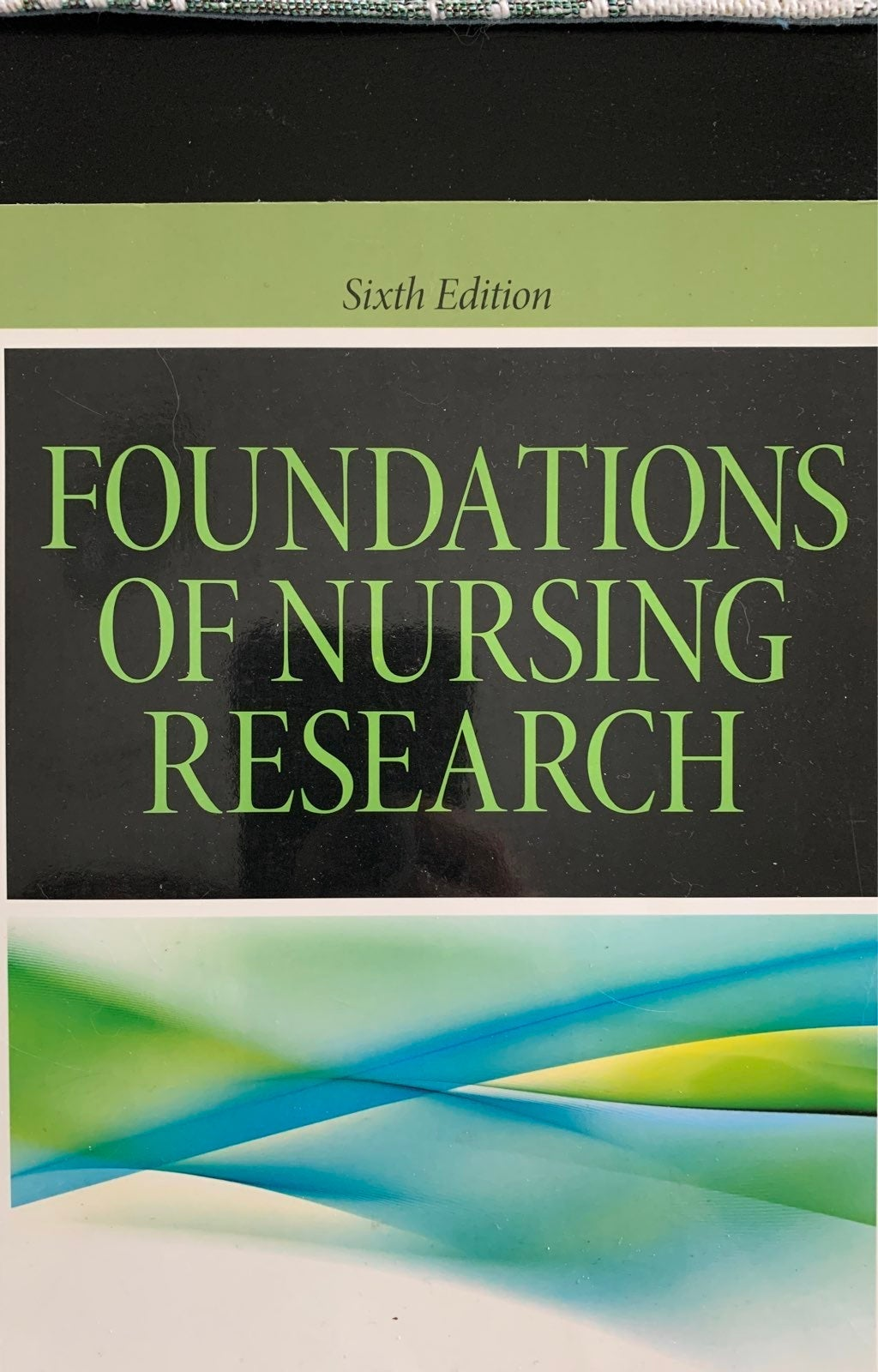 Foundations of Nursing Research Book