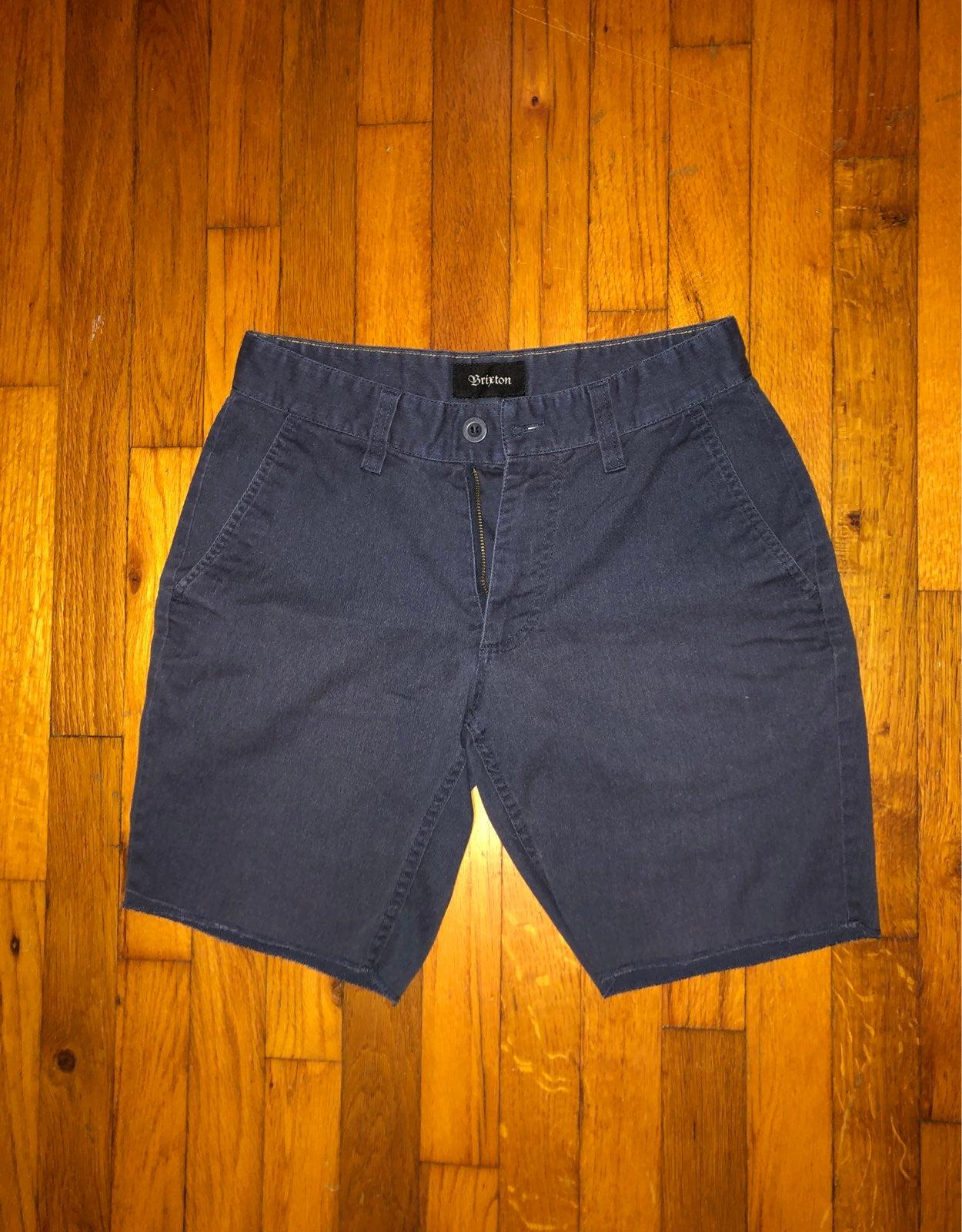 Brixton Shorts Navy