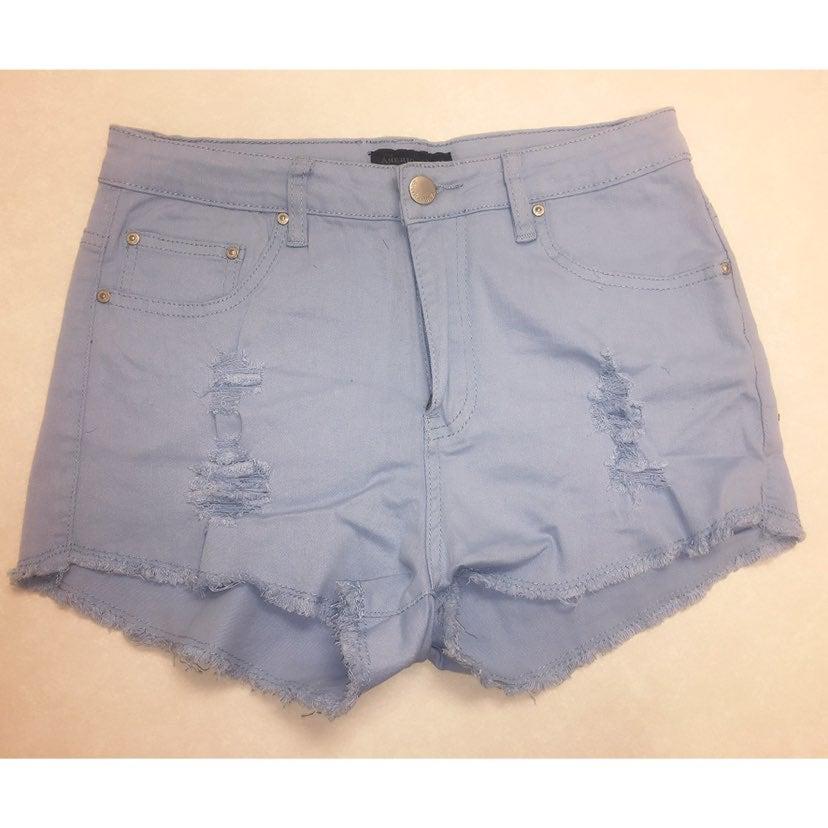 American Bazi blue jean shorts