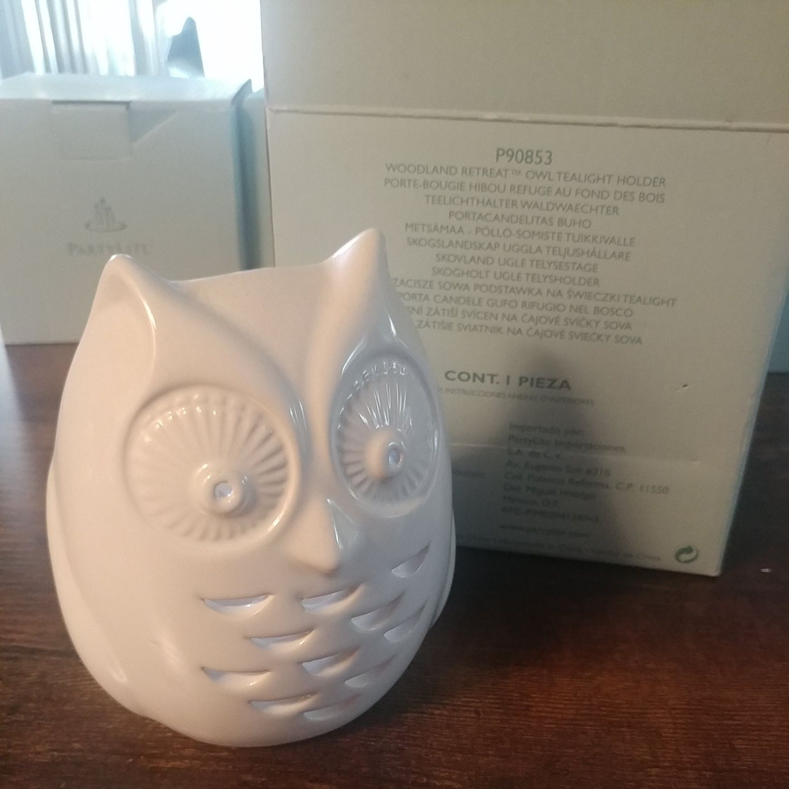 Partylite Owl Tealight Candle holder