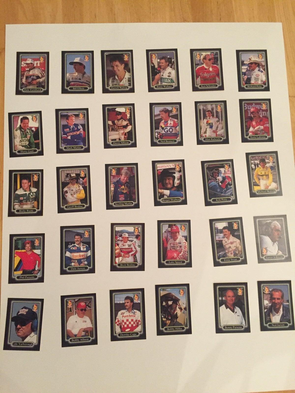 Rare NASCAR Card Collection