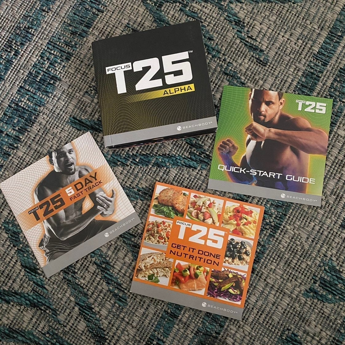 T25 DVD Workout set