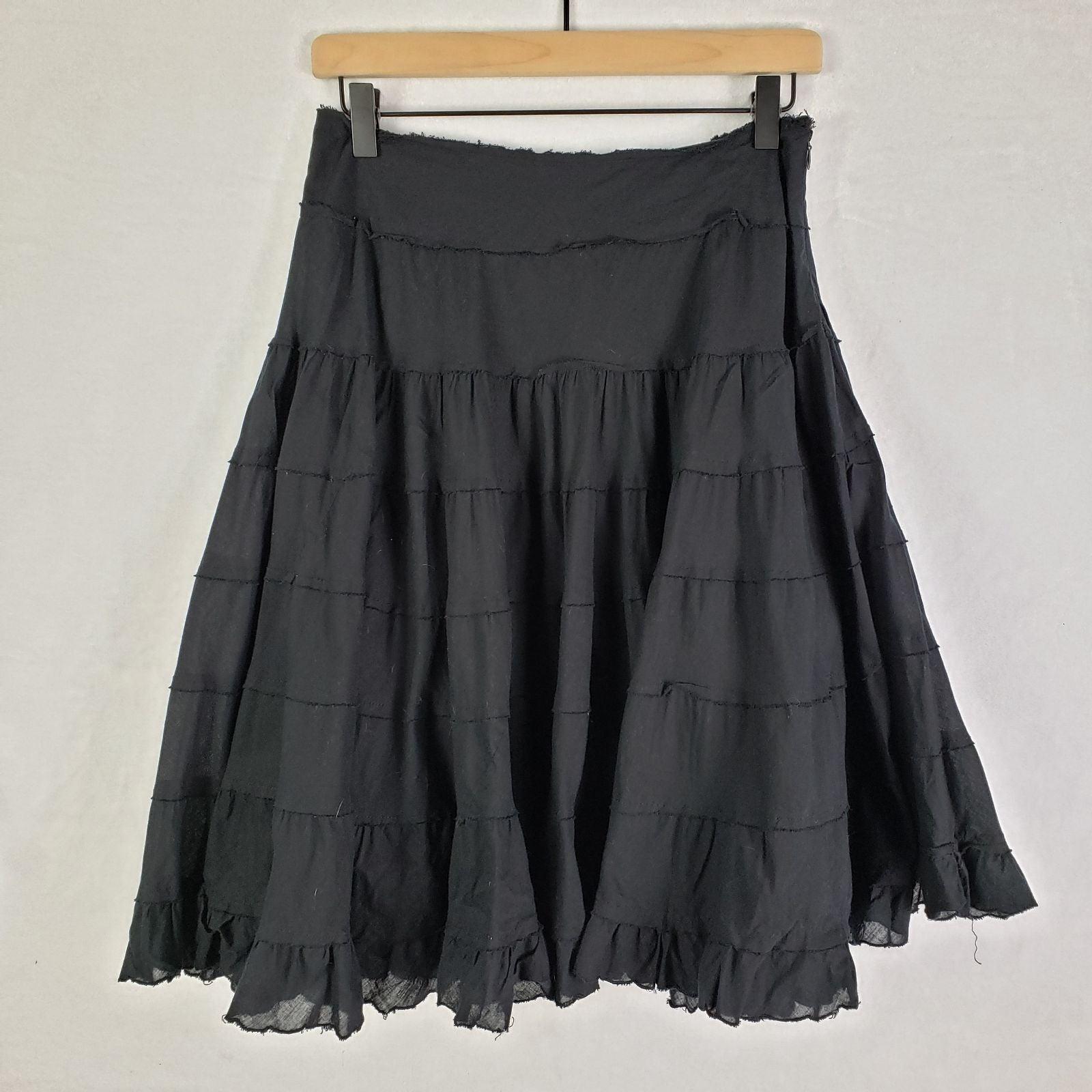 WHBM Tiered Ruffle Skirt