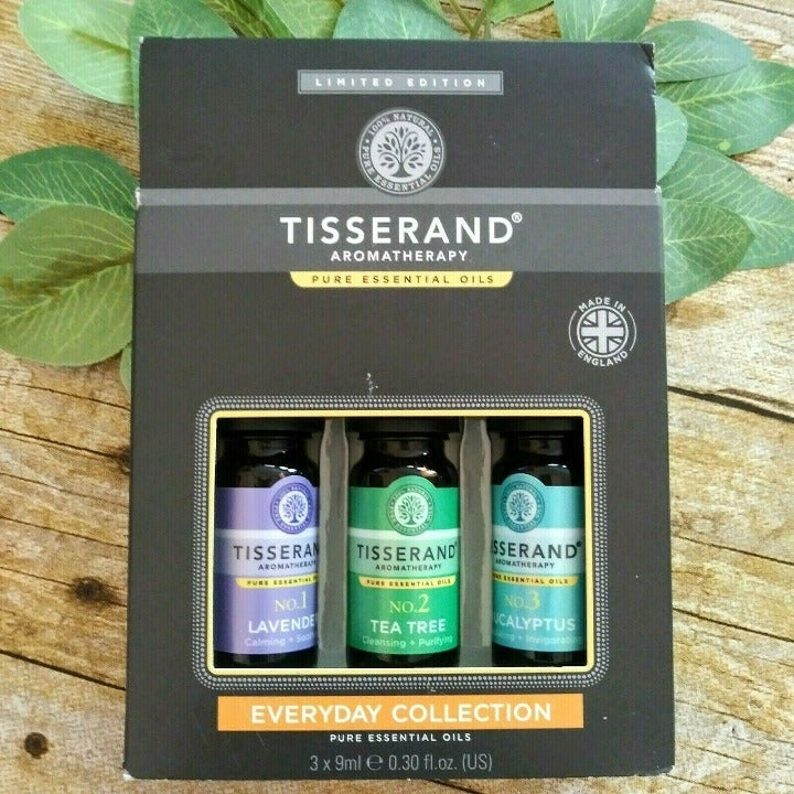 Tisserand 3 Pk Everyday Essential Oils