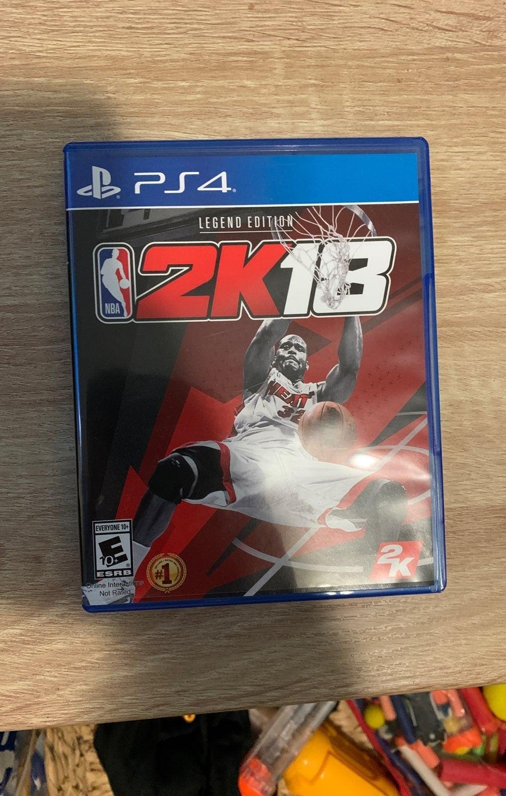 NBA 2k18 ps4 legend edition