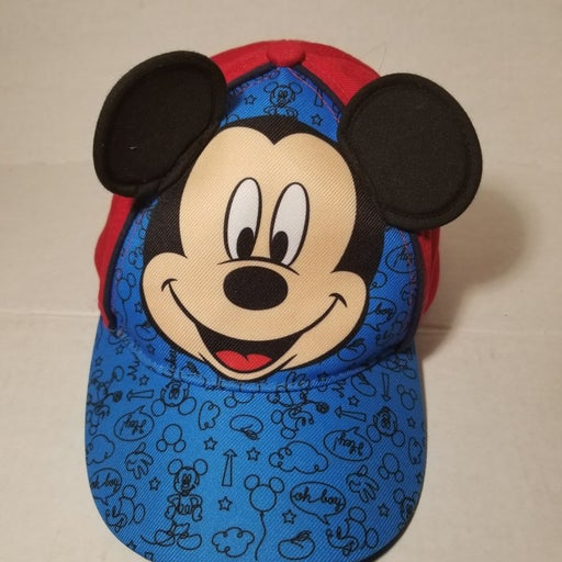 mickey mouse hat with Ears, youth, adjus